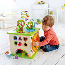 Hape Kitchen Set South Africa by Hape Country Critters Wooden Children U0027s Toddler Play Cube Activity