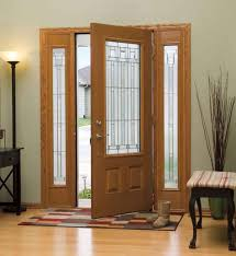 Front Door Side Window Curtain Panels by Front Doors Appealing Front Door Side Panel Stained Glass Front