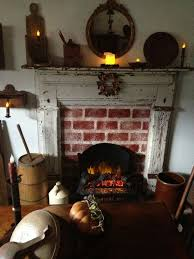 Primitive Decorating Ideas For Fireplace by 350 Best Fireplaces Images On Pinterest Primitive Fireplace