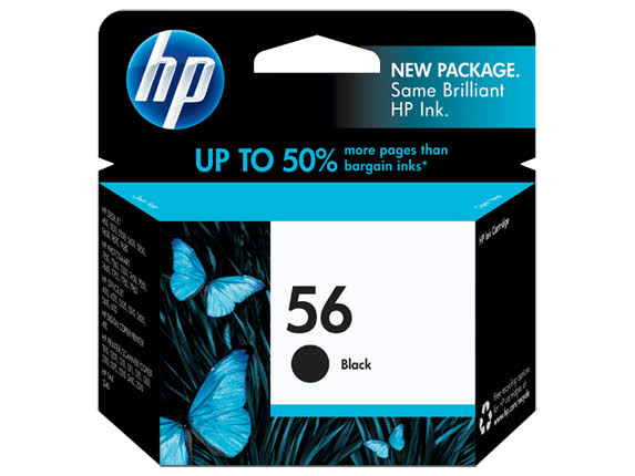 Hp 56 C6656an Ink Cartridge - Black, 520 Page Yield