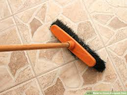 best method for cleaning tile floors image titled clean porcelain