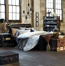 Like The Messy Bed And Vintage Industrial Style Fixtures Open Space