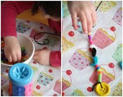 Threading Beads For Plastic Bottle Wind Chime