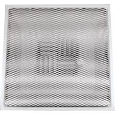 4 X 8 Drop Ceiling Panels by Speedi Grille 24 In X 24 In Drop Ceiling T Bar Perforated Face