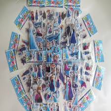Frozen Stickers Wall Elsa Anna Decal Room Decor 3d Foam For Children In Stock
