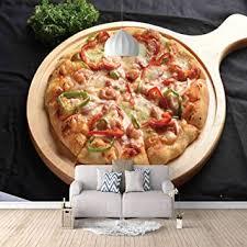 fototapete 3d pizza essen moderne vlies tapete wandbilder