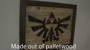 Introduction Zelda Theme Wood Wall Art
