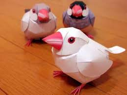 Paper Craft Birds Ideas