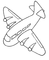 Airplane Coloring Pages For Kids