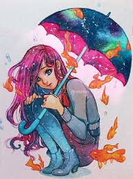 Rain Qinni Watercolor 2016 Such Cool Art