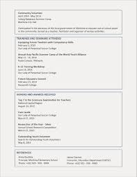 2 Page Resume Examples Best 21 Elegant 1 Template