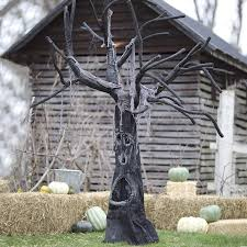 Motion Sensor Halloween Decorations by Giant Motion Activated Spooky Tree With Halloween Sounds The