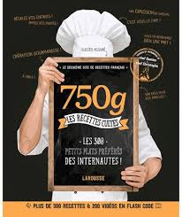 750g com recette cuisine 750 g les recettes cultes cartonné damien christophe achat