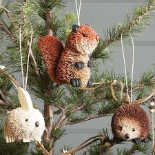 Jcpenney Christmas Tree Ornaments by Bristle Woodland Animal Christmas Decoration By The Contemporary