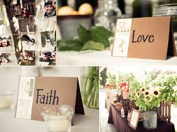 Love And Faith For Reception Table Names Gorgeous Country Chic Welcome
