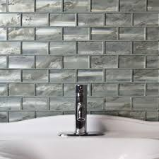 Home Depot Merola Penny Tile by Merola Tile Sterling Super Subway Silver 11 3 4 In X 12 In X 9
