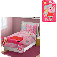 Doc Mcstuffins Bedding by Nickelodeon Peppa Pig Toddler Bedding Set With Bonus Blanket