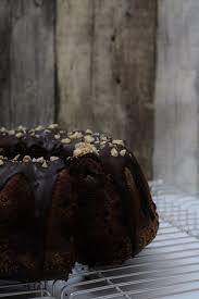chocolate walnut and pear bundt cake vegan