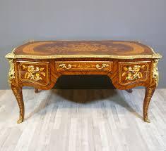 bureau louis xv louis xv style desk ls bronze statues baroque
