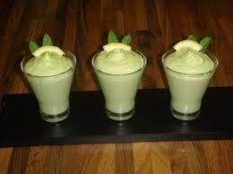 recette crème dessert à l avocat 750g