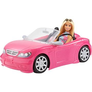 Barbie Doll and Car Toy Set