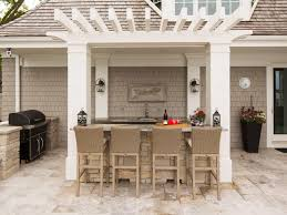 Backyard Bar With Pergola And Stools - Relaxing Outdoor Backyard ... 23 Creative Outdoor Wet Bar Design Ideas Backyards Stupendous Designs Kitchen Pictures 91 Backyard Bbq The Ritzcarlton Lake Tahoe 3pc Wicker Set Patio Table 2 Stools Rattan Budget For Small Triyaecom And Grill Various Design Inspiration You Must Try At Your Decorations For Shelves In Living Room Outside U0026 Garden U003e Tips Expert Advice Hgtv