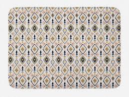 badematte plüsch badezimmer dekor matte mit rutschfester rückseite abakuhaus boho hippie aufwändige details design kaufen otto