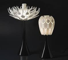Accessories The Awesome Crystal Opened Lamps Table Nice Idea Great Lamp Decoration In