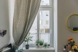 diy wohnzimmer diy mini fenster vorhänge als sichtschutz