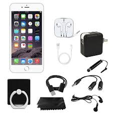 Apple iPhone 6s Unlocked GSM 4G LTE Smartphone with Starter Kit