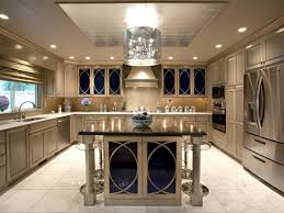 Above Kitchen Cabinet Decorations Pictures by Glamorous Decor For Rustic Kitchen Ideas With Glossy Grey Accent