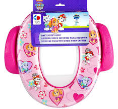 Pink Frog Potty Chair by Ginsey Paw Patrol Little U0027s Soft Potty Seat Age 18 Mos With