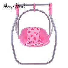 Doll Swing Carrier Seat High Chair Kids Pretend Toy Role Playing For ... Krabatse Doll High Chair John Lewis Partners Dolls Highchair At Feili Toys Baby With En71toys Buy Badger Basket High Chair With Padded Seat White Rose Fits Cutest Do It Yourself Home Projects From Ana Mommy Me By To Discover Shop Online For Best Price And Annabell 3 In 1 Swing Comfort Bayer Chic 2000 Dotty Pink Navy Bubbles My Mom And Me Toddler Ding 911 Reborn