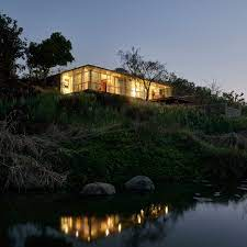 104 River Side House Side By Architecture Brio Is Half Submerged