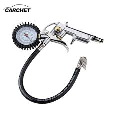 CARCHET Universal Tire Inflator With Pressure Gauge Tyre Pressure ... Ziegler Bolt Nut House 10120 Psi Dual Chuck Hd Truck Tire Gauge Free Shipping1pcchrome Dual Head Truck Tire Pssure10 150psi Unique Bargains Durable Car Motorcycle 0100 Psi 07 Bar Bend_9lh Master Wheel Features 20 220 Lbs Mhr Tool Air Pssure Gauge Dynatex Tyre Inflator Gun Compressor Dial 14 Amazoncom Accutire Ms5515b And Rv Digital With New Foot Angle Chuck With Lemate Pro Metal Tread Accutire Led Light