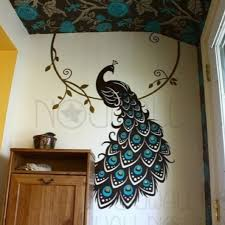 Peacock Wall Art Home Decor House Ideas