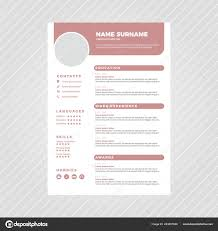 Muted Pink Modern Professional Resume Design Template ... Free Simple Professional Resume Cv Design Template For Modern Word Editable Job 2019 20 College Students Interns Fresh Graduates Professionals Clean R17 Sophia Keys For Pages Minimalist Design Matching Cover Letter References Writing Create Professional Attractive Resume Or Cv By Application 1920 13 Page And Creative Fully Ms