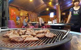 Behold Majang Dong Flushing s Secret Korean BBQ Garden