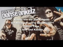Bã Hse Onkelz Kuchen Und Bier Böhse Onkelz Kuchen Und Bier Lyrics