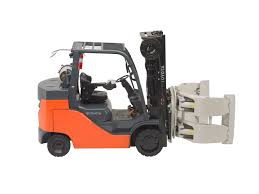 100 Clamp Truck New Pneumatic Being Launched By Toyota Bell Forklift Bell