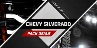 Chevy Silverado LED Headlights LED Taillights, Truck Accessories ...