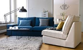 Ikea Kivik Sofa Bed Slipcover by Use This Ikea Kivik In Teal Blue Panama Cotton And An Industrial