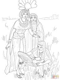 Click The Finding Of Baby Moses Coloring Pages To View Printable