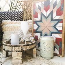 boho wandbild tribal holzdekoration aztec wanddeko holz wandbehang farbig 58 x 38cm waysens