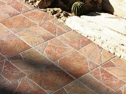 Porcelain stoneware outdoor floor tiles HELLIN By REALONDA