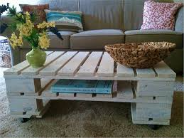 Wonderful Homemade Furniture Ideas Derived From Rustic Wood Gorgeous Wooden Coffee Table