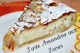 tarte amandine aux poires amour de cuisine
