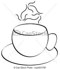 Coffee Mug Abstract With Steam
