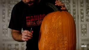 Walking Dead Pumpkin Template Free by Watch I Am Groot Pumpkin Carving Food Network Uk