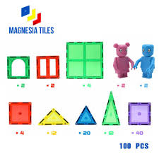 Magna Tiles 100 Piece Target by Bluntly Reviewed